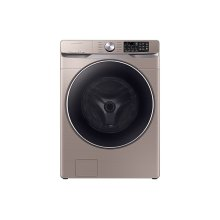 WF6300 4.5 cu. ft. Smart Front Load Washer with Super Speed in Champagne
