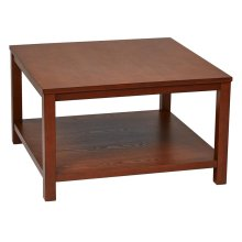 """Merge 30"""" Square Coffee Table"""