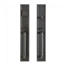 "Corbel Rectangular Entry Set - 3"" x 19"" Silicon Bronze Brushed"