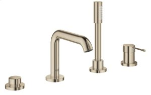 Essence Four-Hole Bathtub Faucet with Handshower Product Image