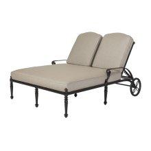 Grand Terrace Cushion Double Chaise Lounge