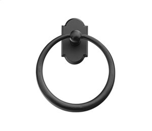 Sandcast Bronze Towel Ring Product Image