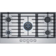 800 Series Gas Cooktop 36'' Stainless steel