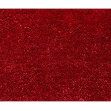 Shaggy Rug, Red Color.