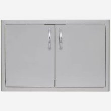 Blaze 32 Inch Double Access Door with Paper Towel Holder