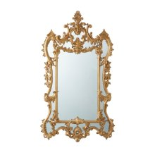 The Rocaille Italian Gold Gilt Mirror