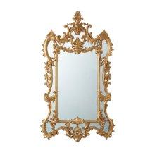 The Rocaille Italian Gold Gilt Mirror