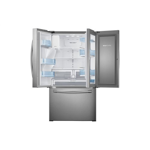 RF28HDEDBSR French Door Refrigerator with Food Showcase, 28 cu.ft