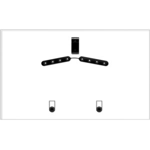 """PROFORMA 32"""" to 47"""" Gallery Style TV Mount"""