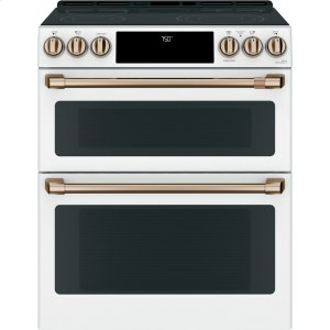 """Café 30"""" Smart Slide-In, Front-Control, Radiant and Convection Double-Oven Range Product Image"""