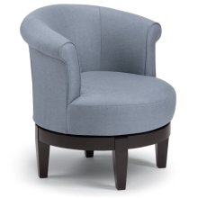 ATTICA Swivel Barrel Chair