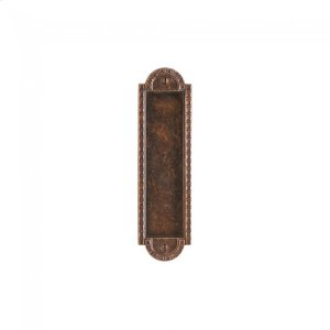 """Corbel Arched Flush Pull - 2 1/2"""" x 9"""" Silicon Bronze Brushed Product Image"""