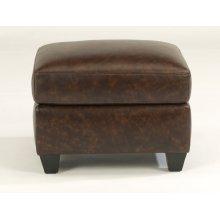 Roscoe Leather Ottoman
