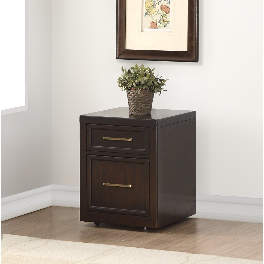 GREENWICH 2 Drawer Rolling File Cabinet