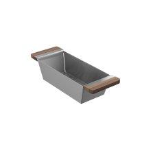 Colander 205038 - Walnut Fireclay sink accessory , Walnut