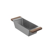 Colander 205038 - Walnut Fireclay sink accessory , Walnut