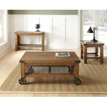 "Hailee Cocktail Table w/Caster, 48""x28""x20"""