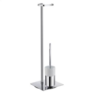 Toilet Roll Holder Free Standing/Toilet Brush incl. Container Product Image