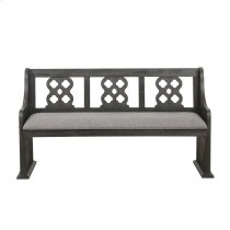 Bench with Curved Arms Product Image