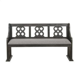 Bench with Curved Arms
