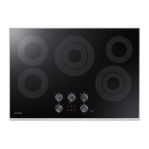 "30"" Electric Cooktop in Stainless Steel Product Image"