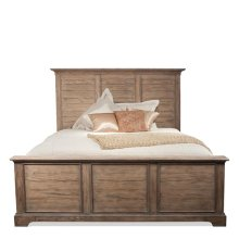 Sherborne Queen/King Panel Side Rails Toasted Pecan finish