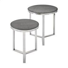 Meeda Stainless Steel Tables - Set of 2