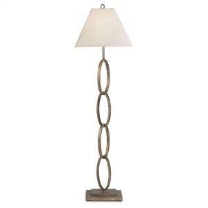 Bangle Silver Floor Lamp