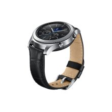 Gear S3 Alligator Grain Leather Band - Black