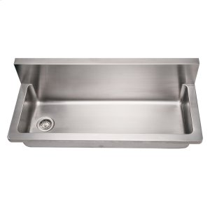 Noah's Collection Utility Series single bowl wall mount commercial utility sink. Product Image