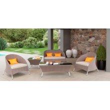 Renava Zamora Outdoor Brown Sofa Set