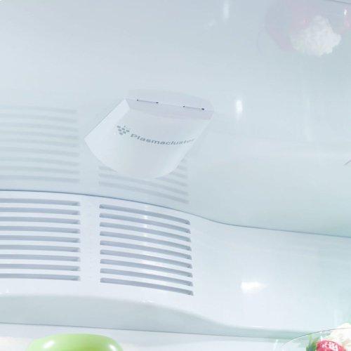 "Marvel Professional Built-In 36"" Bottom Freezer Refrigerator - Solid Stainless Steel Door - Right Hinge, Slim Designer Handle"