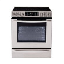 5.4 cu. ft. Capacity Electric Single Oven Slide-In Range with Dual Convection and Baking Drawer