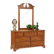 """Elegant River Bend 56"""" Dresser- Mirror"""