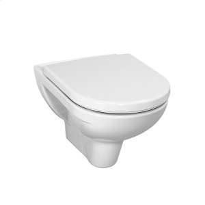 White Wall hanging water closet bowl, washdown, with flushing rim (anchor screw spacing 180 mm) Product Image