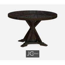 "48"" Dark Ale Circular Dining Table"