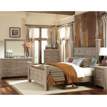 Standard Furniture 69400 Stonehill Poster Bedroom set Houston Texas USA Aztec Furniture