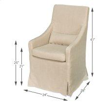 Skirted Arm Chair