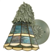 """6""""W Country Garland Wall Sconce"""
