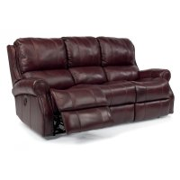 Miles Leather Power Reclining Sofa Product Image
