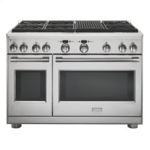"Monogram 48"" Dual-Fuel Professional Range with 6 Burners and Grill (Natural Gas) - AVAILABLE EARLY 2020"