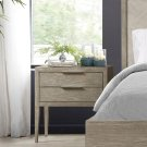 Zoey - Two Drawer Nightstand - Urban Gray Finish Product Image