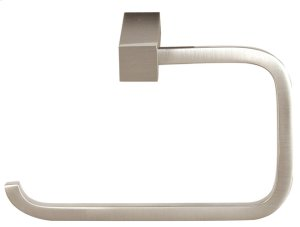 Spa 2 Single Post Tissue Holder A7166 - Unlacquered Brass Product Image