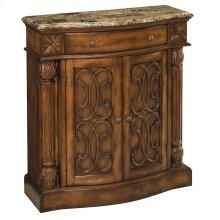 William 2-door 1-drawer Cabinet