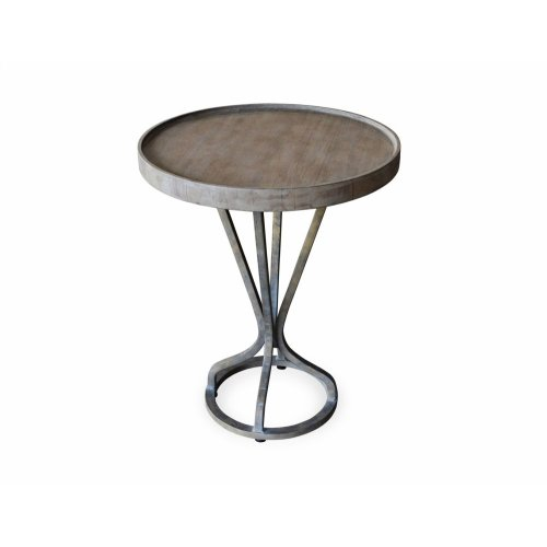 "Juno Accent Table Grey 18""x18""x22"""