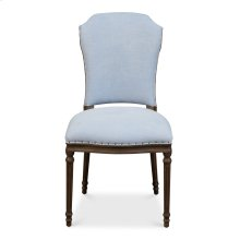 Emilion Dining Side Chair, Dusty Blue