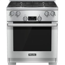 HR 1724 LP 30 inch range Dual Fuel model with DirectSelect controls.