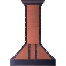 """ZLINE 30"""" Designer Series Copper Finish Wall Range Hood (655-CBBBB-30)"""