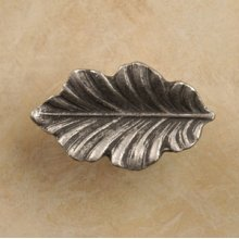 Fancy Oak Leaf Knob Small