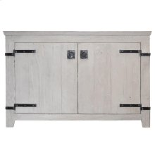 "48"" Americana Vanity in Whitewash"